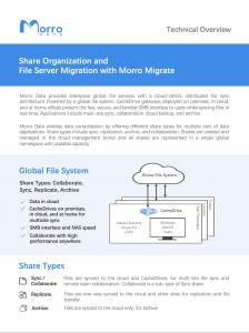 Cloud Migration: File Server Migration with Morro Data